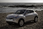 2012 Nissan Juke in Chrome Silver - Static Front Left Three-quarter View