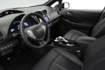 Picture of 2015 Nissan Leaf Interior in Black