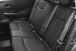 Picture of 2015 Nissan Leaf Rear Seats in Black