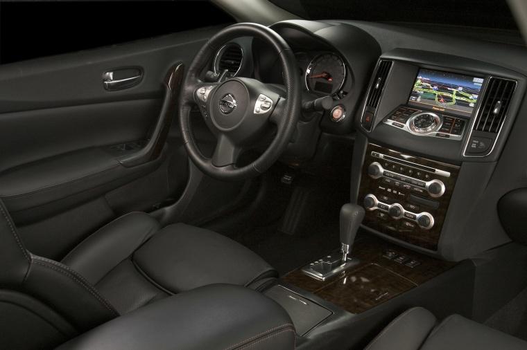 Attractive 2010 Nissan Maxima Interior In Charcoal