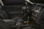 Picture of 2010 Nissan Maxima Front Seats in Charcoal