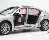 2013 Nissan Maxima IIHS Side Impact Crash Test Picture