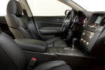 Picture of 2014 Nissan Maxima Front Seats in Charcoal