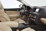 Picture of 2014 Nissan Maxima Front Seats in Cafe Latte