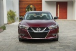 2016 Nissan Maxima Platinum Sedan in Coulis Red - Static Frontal View