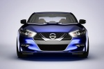 2016 Nissan Maxima SR Sedan in Deep Blue Pearl - Static Frontal View