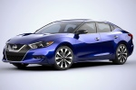 2016 Nissan Maxima SR Sedan in Deep Blue Pearl - Static Front Left View