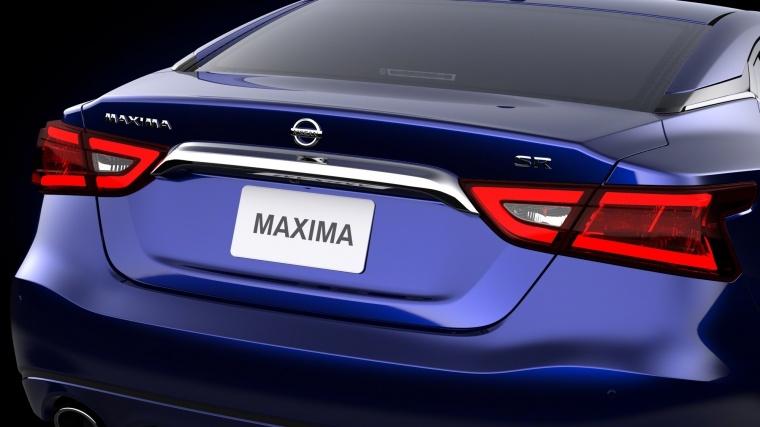 2017 Nissan Maxima SR Sedan Tail Lights Picture