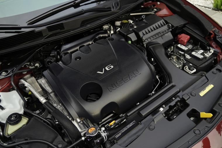 2018 Nissan Maxima Platinum Sedan 3.5-liter V6 Engine Picture