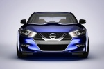 2018 Nissan Maxima SR Sedan in Deep Blue Pearl - Static Frontal View
