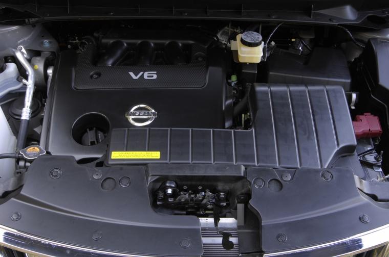 2010 Nissan Murano 3.5-liter V6 Engine Picture
