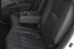 Picture of 2010 Nissan Murano Rear Seats in Black