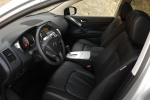 Picture of 2011 Nissan Murano Front Seats in Black