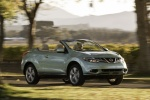2011 Nissan Murano CrossCabriolet in Caribbean Pearl - Driving Front Right View