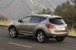 2011 Nissan Murano LE AWD in Saharan Stone - Static Rear Left Three-quarter View