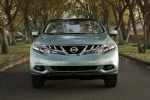 2012 Nissan Murano CrossCabriolet in Caribbean Pearl - Driving Frontal View