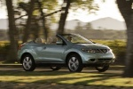 2013 Nissan Murano CrossCabriolet - Driving Front Right Three-quarter View