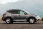 2014 Nissan Murano SL in Gun Metallic - Static Side View