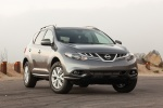 2014 Nissan Murano SL in Gun Metallic - Static Front Right View