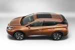 2017 Nissan Murano in Pacific Sunset Metallic - Static Side Top View