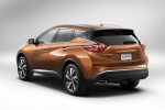 2017 Nissan Murano in Pacific Sunset Metallic - Static Rear Left View