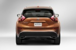 2017 Nissan Murano in Pacific Sunset Metallic - Static Rear View