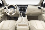 Picture of a 2017 Nissan Murano's Cockpit in Beige