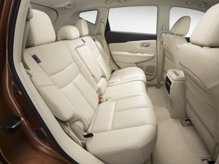 2018 Nissan Murano Rear Seats Picture