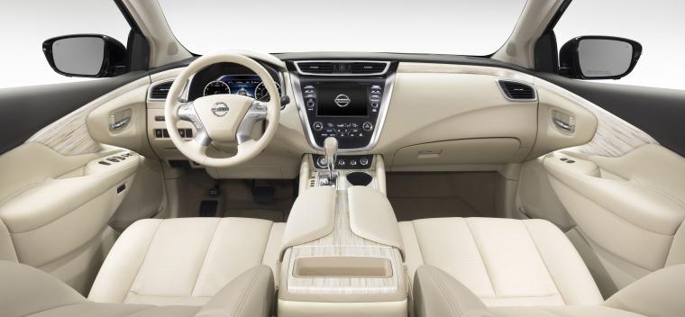2018 Nissan Murano Cockpit Picture