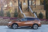 2018 Nissan Murano Platinum AWD in Pacific Sunset Metallic from a side view