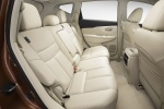 Picture of 2018 Nissan Murano Rear Seats in Beige