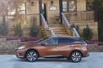 2018 Nissan Murano Platinum AWD in Pacific Sunset Metallic - Static Side View