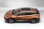 2018 Nissan Murano in Pacific Sunset Metallic - Static Side Top View