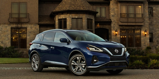 Research the 2019 Nissan Murano