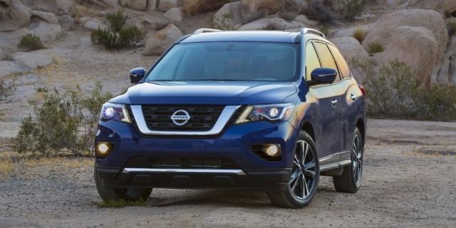 2018 Nissan Pathfinder Pictures