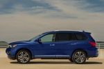 Picture of 2019 Nissan Pathfinder Platinum 4WD in Caspian Blue Metallic