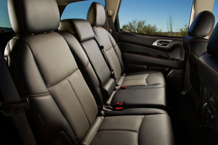Picture of a 2020 Nissan Pathfinder SL Rock Creek Edition 4WD's Rear Seats