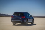 2020 Nissan Pathfinder Platinum 4WD in Caspian Blue Metallic - Driving Rear Right View