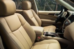 Picture of a 2020 Nissan Pathfinder Platinum's Front Seats