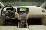 Picture of a 2020 Nissan Pathfinder Platinum 4WD's Cockpit