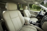 Picture of a 2020 Nissan Pathfinder Platinum 4WD's Front Seats