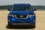 2020 Nissan Pathfinder Platinum 4WD in Caspian Blue Metallic - Static Frontal View