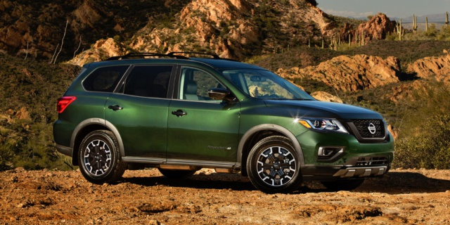 Research the 2020 Nissan Pathfinder