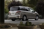 2012 Nissan Quest in Brilliant Silver - Static Rear Right Three-quarter View