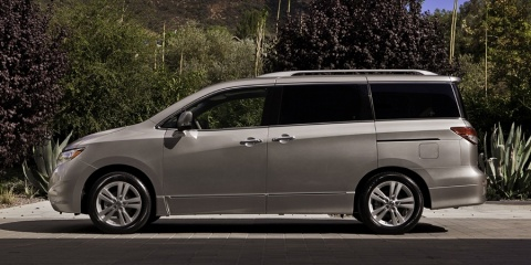 2015 Nissan Quest S, SV, SL, LE V6 Review