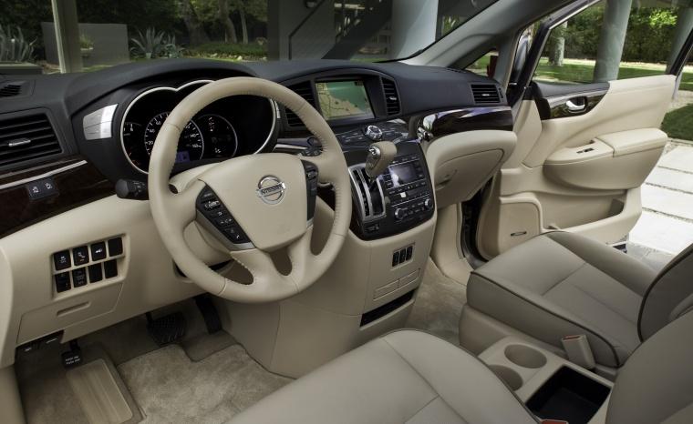 2016 Nissan Quest Interior Picture