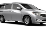 2016 Nissan Quest in Brilliant Silver - Static Front Left Three-quarter View