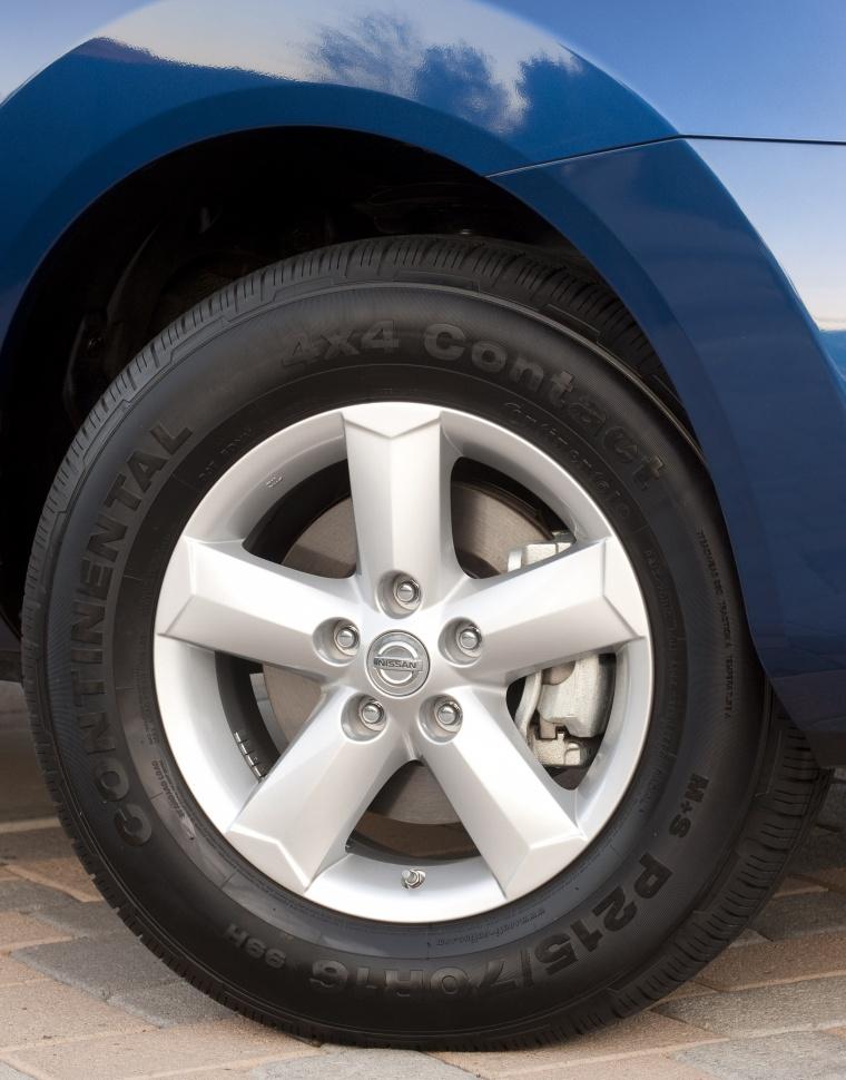 2010 Nissan Rogue 360 Rim Picture