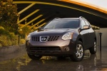 2010 Nissan Rogue in Iridium Graphite Metallic - Static Front Left View