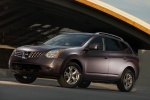 2010 Nissan Rogue in Iridium Graphite Metallic - Static Front Left Three-quarter View